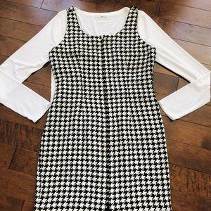 Ann Taylor Pattern Dress - 10P